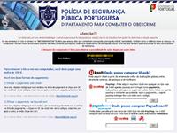 Virus da Policia de Segurança Pública Portuguesa
