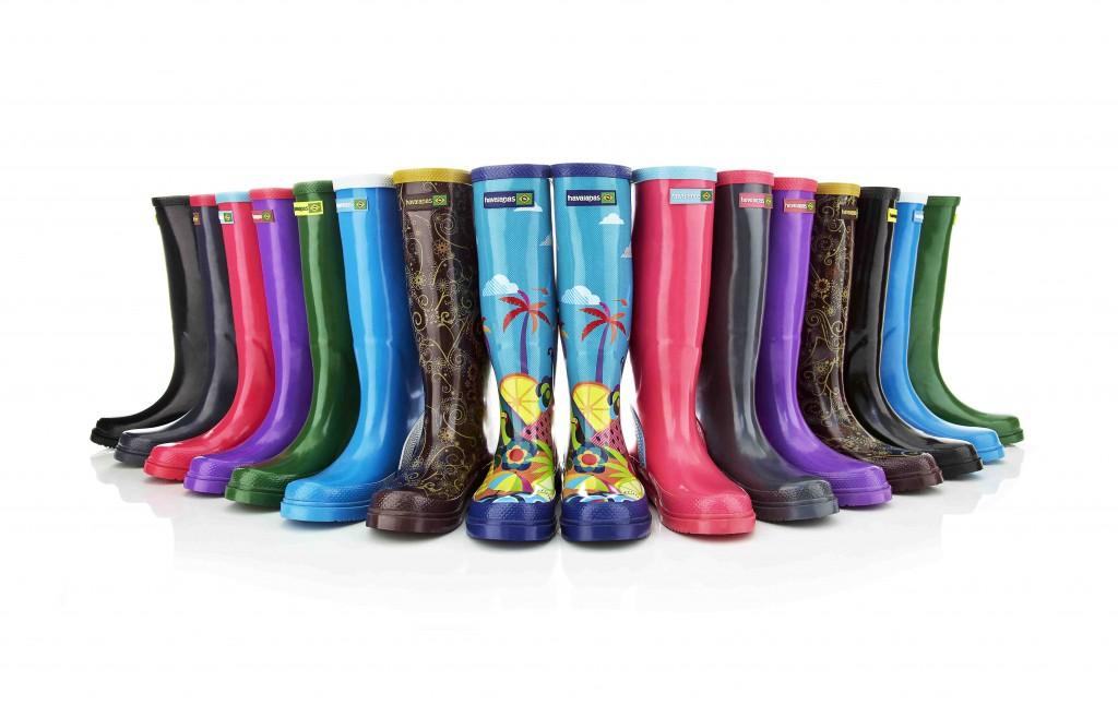 Botas de lluvia, botas de agua