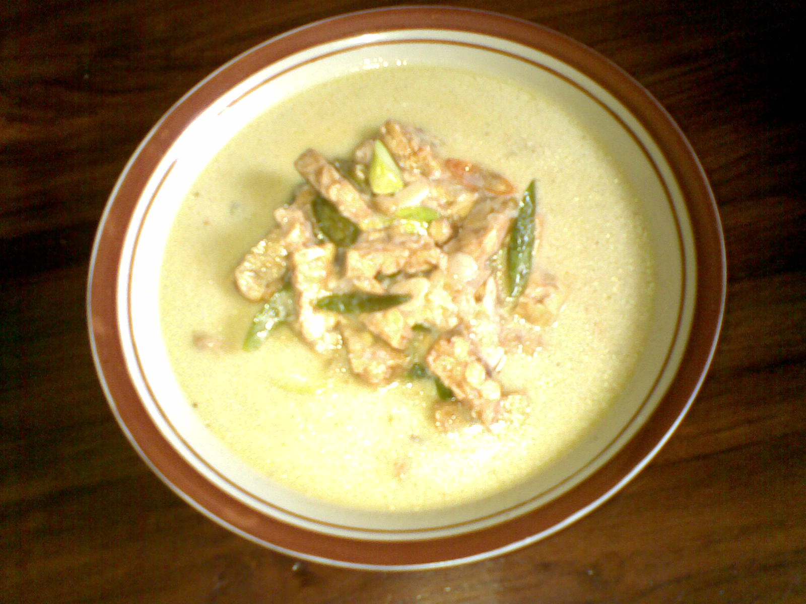 Dapur Bunda Dafghaz Resep Sayur Ndeso Tempe Cabe Hijau Kuah Pedas Sendok Sup