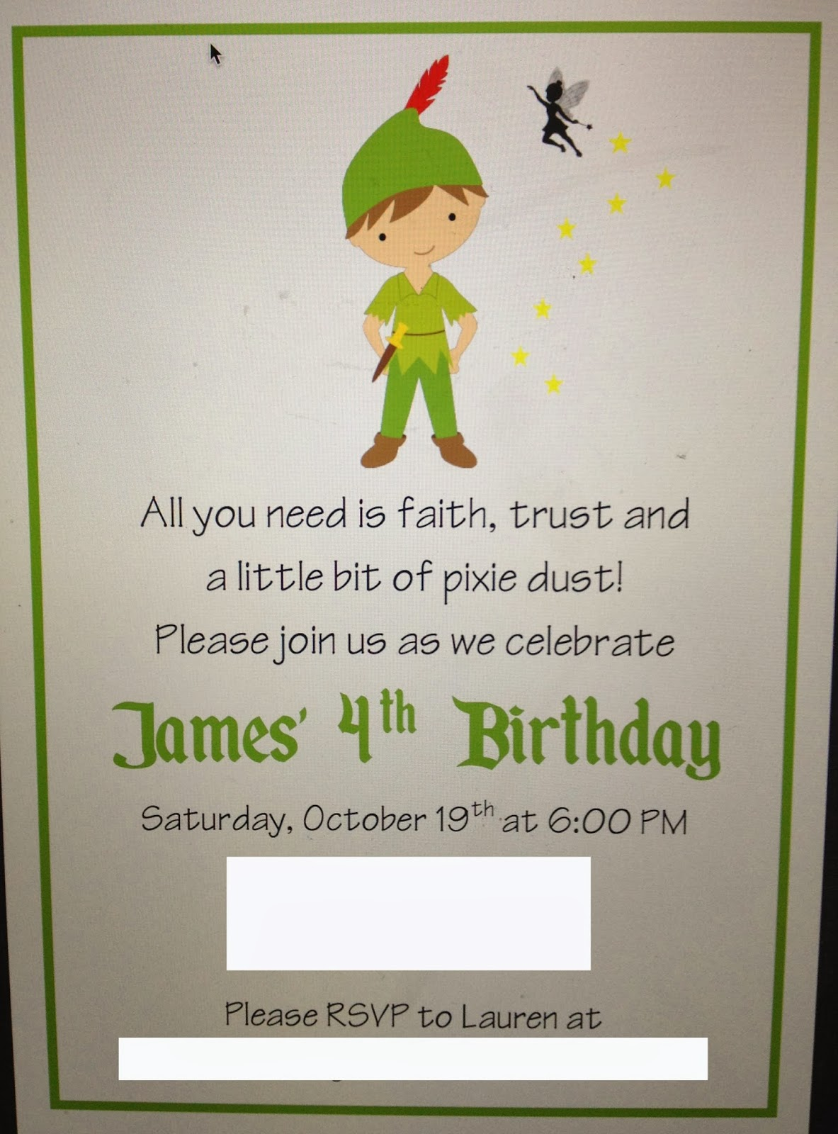 A Page Is Turned: Peter Pan Party!