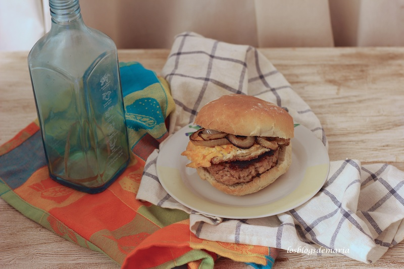 Hamburguesa casera, productos degustabox