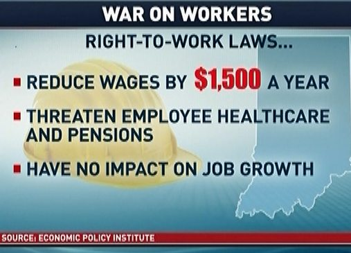 impact of right to work in Jefferson city, mo — as republican lawmakers advance plans to protect the so-called right-to-work legislation they passed last year, a study.