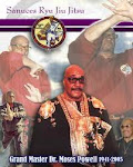 Supreme GM Dr. Moses Powell founder of Sanuces Ryu Jiu Jitsu