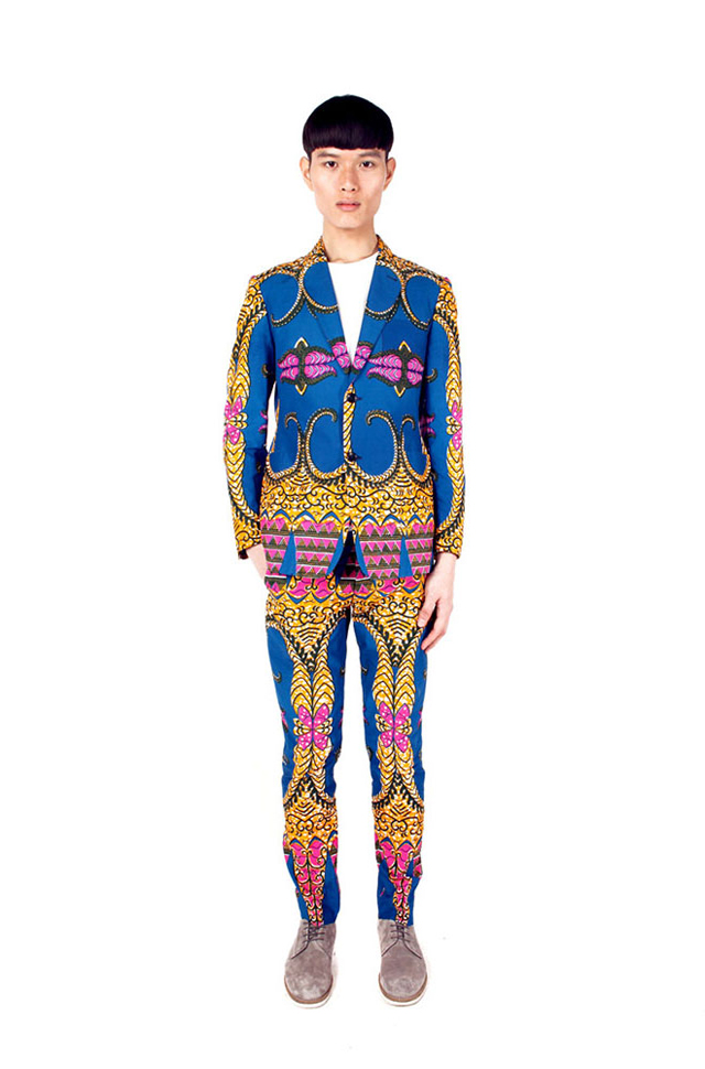 African print suit Dent de Man ciaafrique,african fashion, kitenge designs , african styles, african style blazers ,African men fashion designs, african style, pagne africain ,mode africaine,