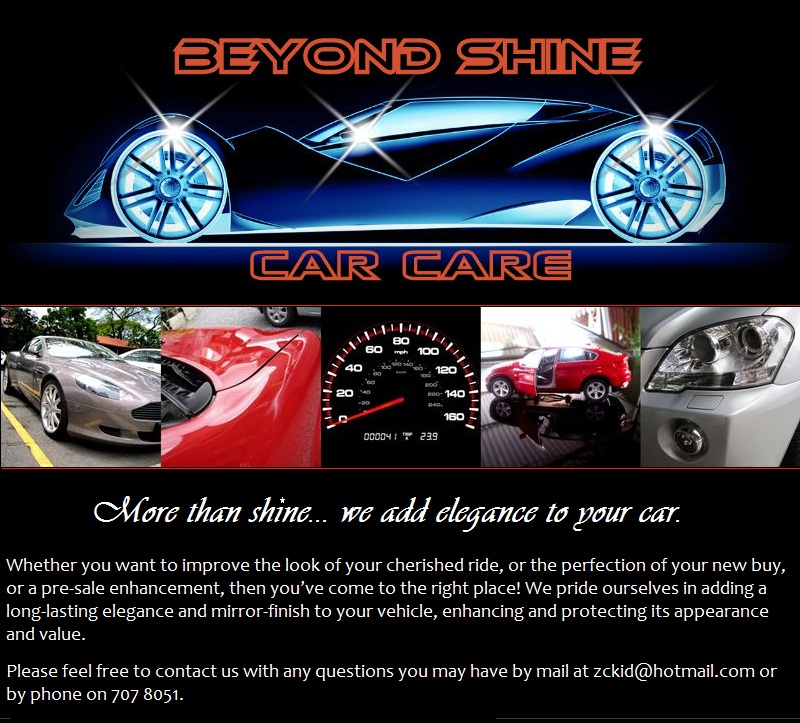 BeyondShineCar care