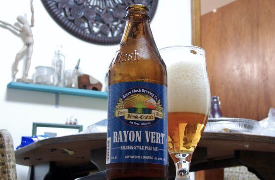 Green Flash Rayon Vert Belgian Pale Ale