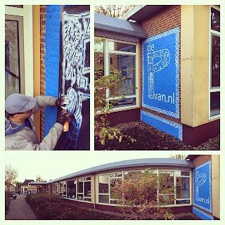 dePvan.nl Muurschildring.EGD Deventer