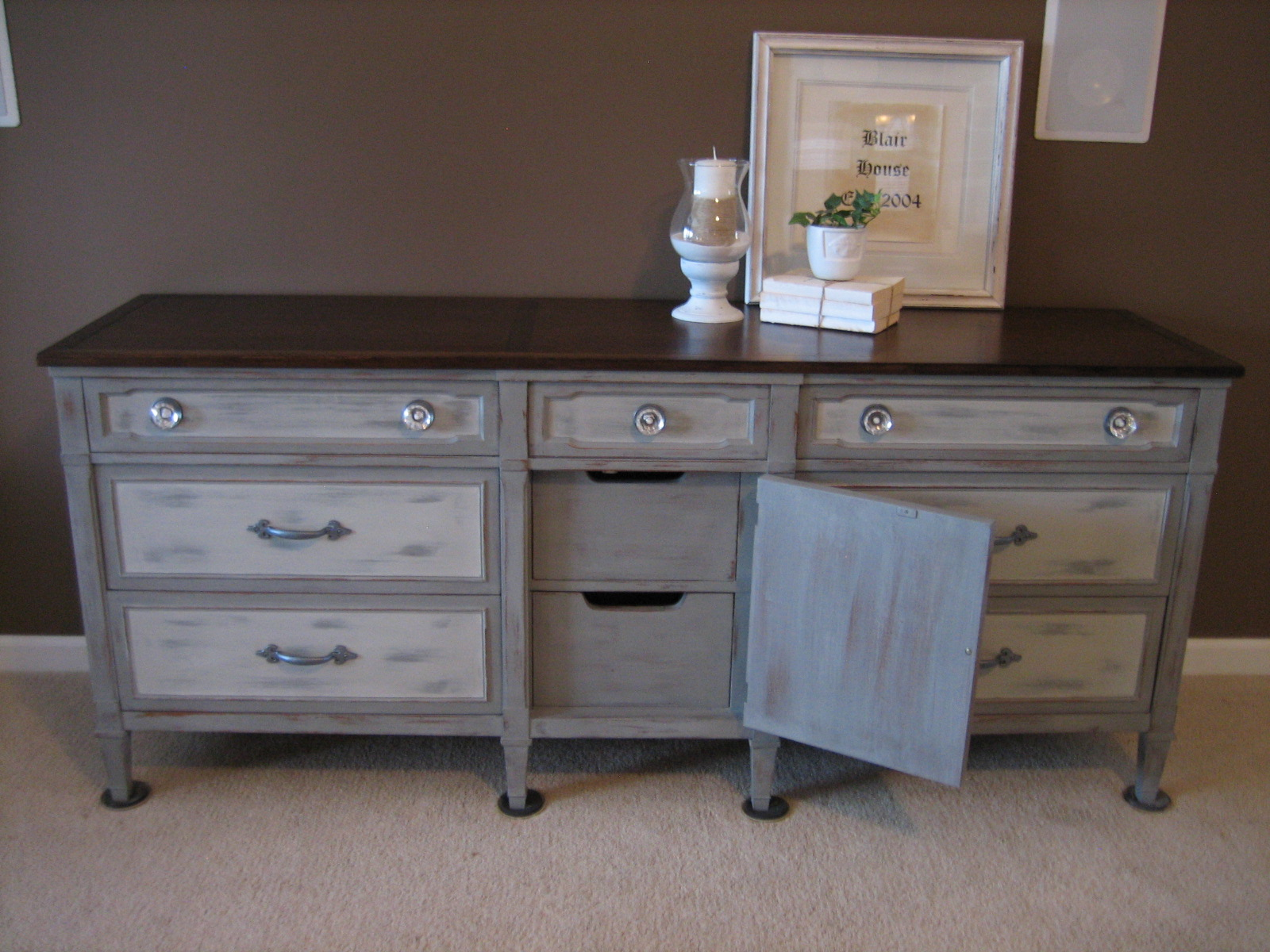 This Piece Would Be Beautiful As A Buffet Or Dresser Now To The Before And Afters