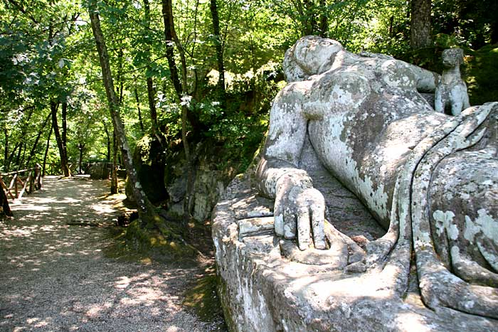 A Dark and Stormy Night; Gothic Reads: The Monster Garden; Bomarzo