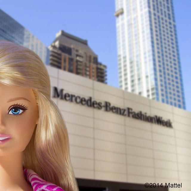Fotogalería: Barbie Conquista NYFW