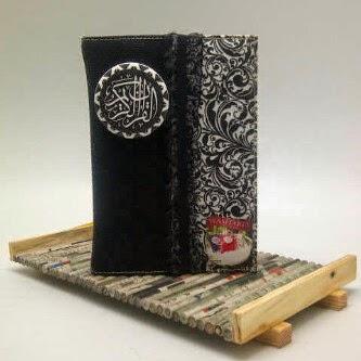 al quran madina zhafira hitam, al quran madina zhafira cover unik