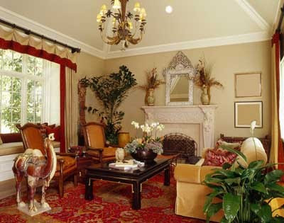 Design decor disha interiors traditional for Traditional home decor