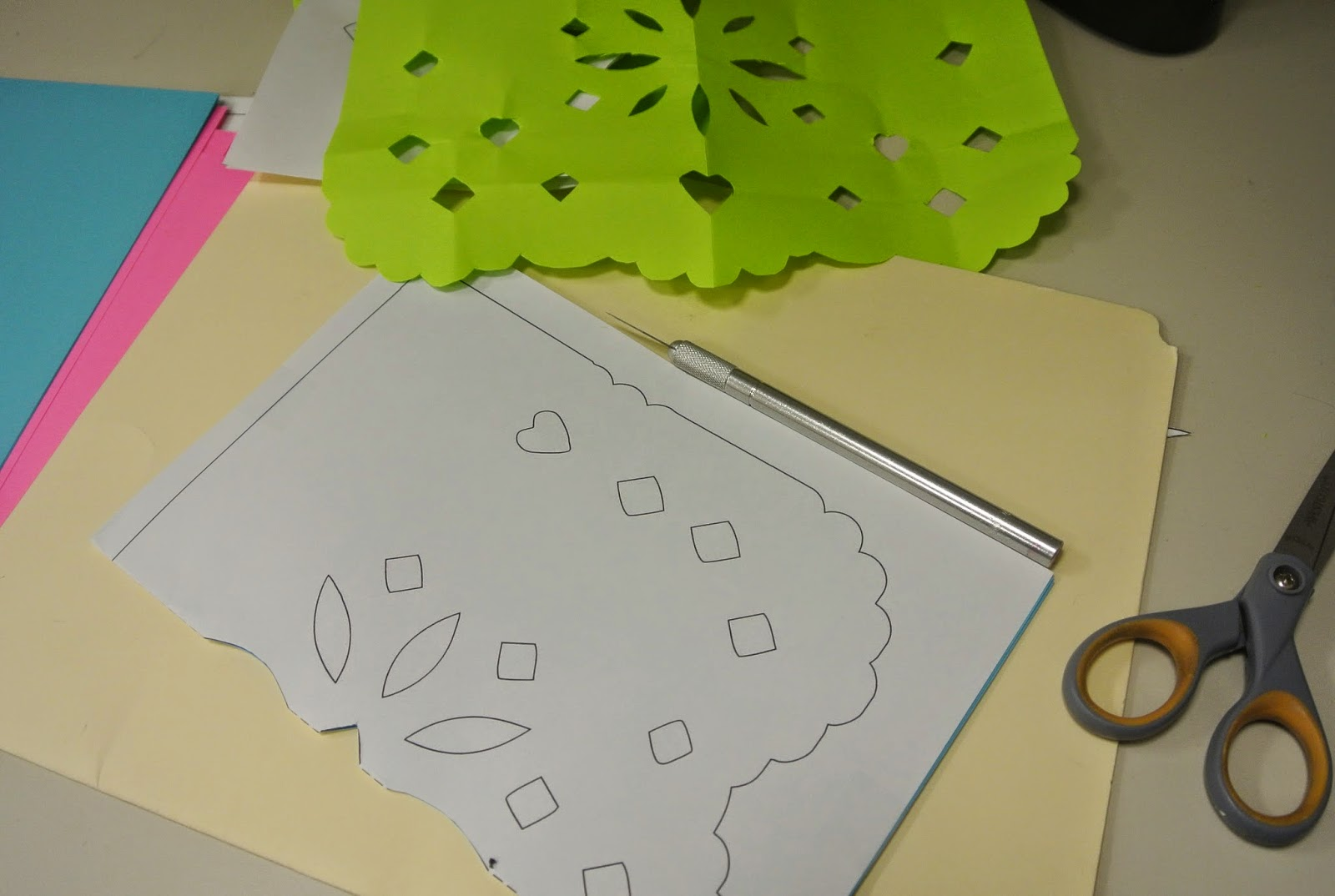 papel picado designs template - photo #47