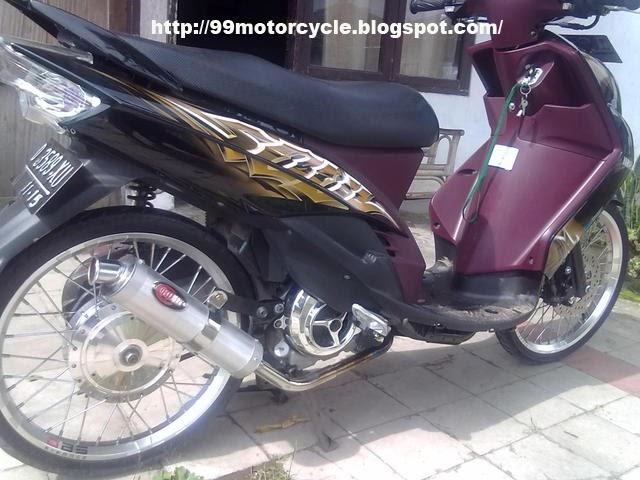 Yamaha Mio Drag Elegant Style - Modifikasi motor