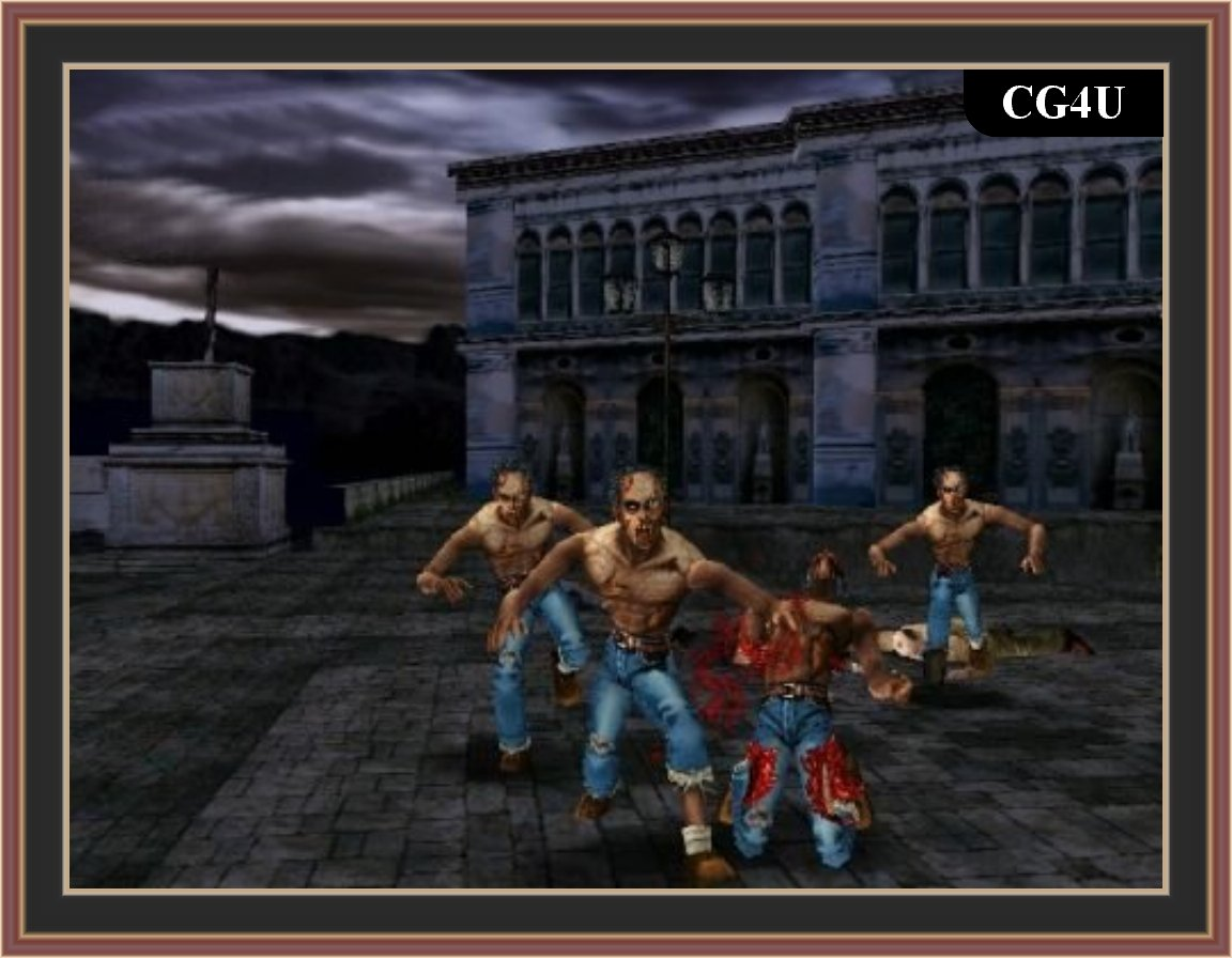 The House Of The Dead 2 Pc Game ScreenShot