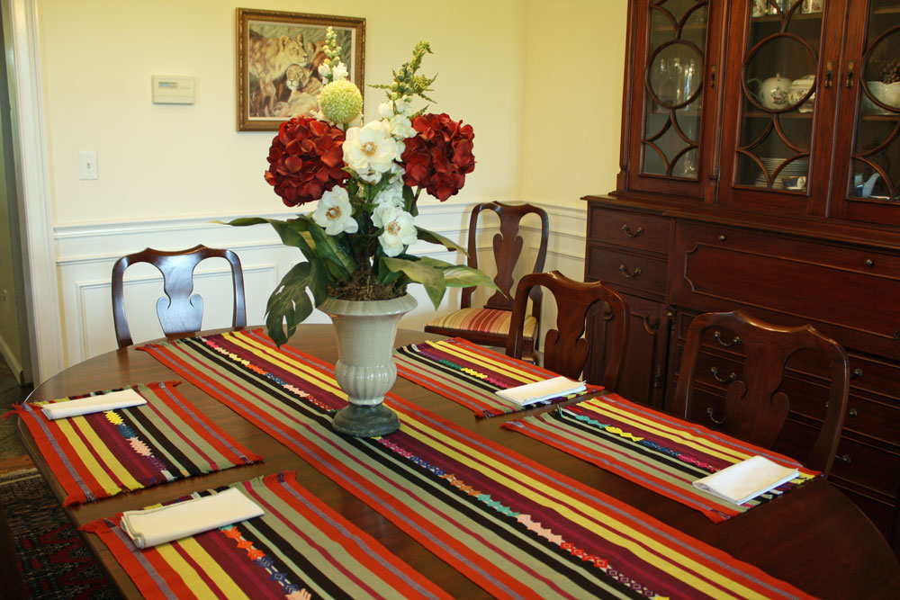 Table Runners And Placemats Sets Set of 1 Table Runner And