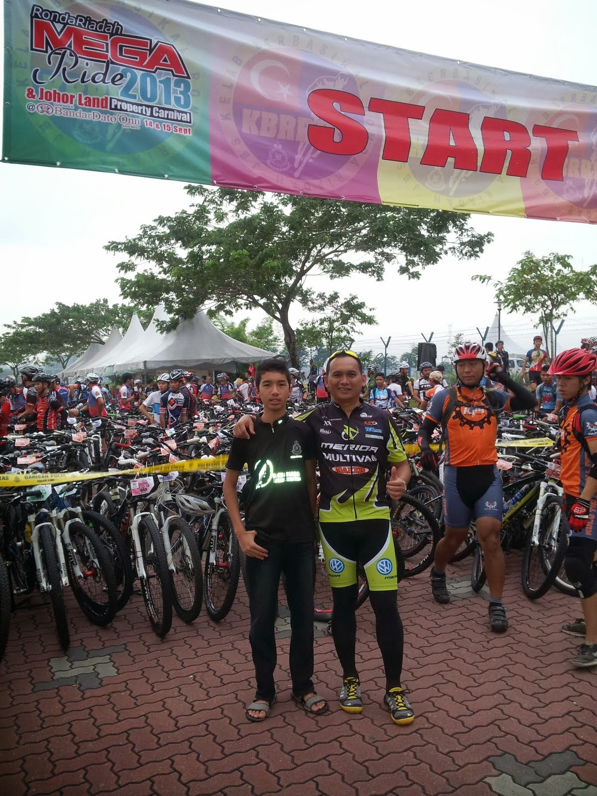 15092013 Megaride Ronda Riadah Johor