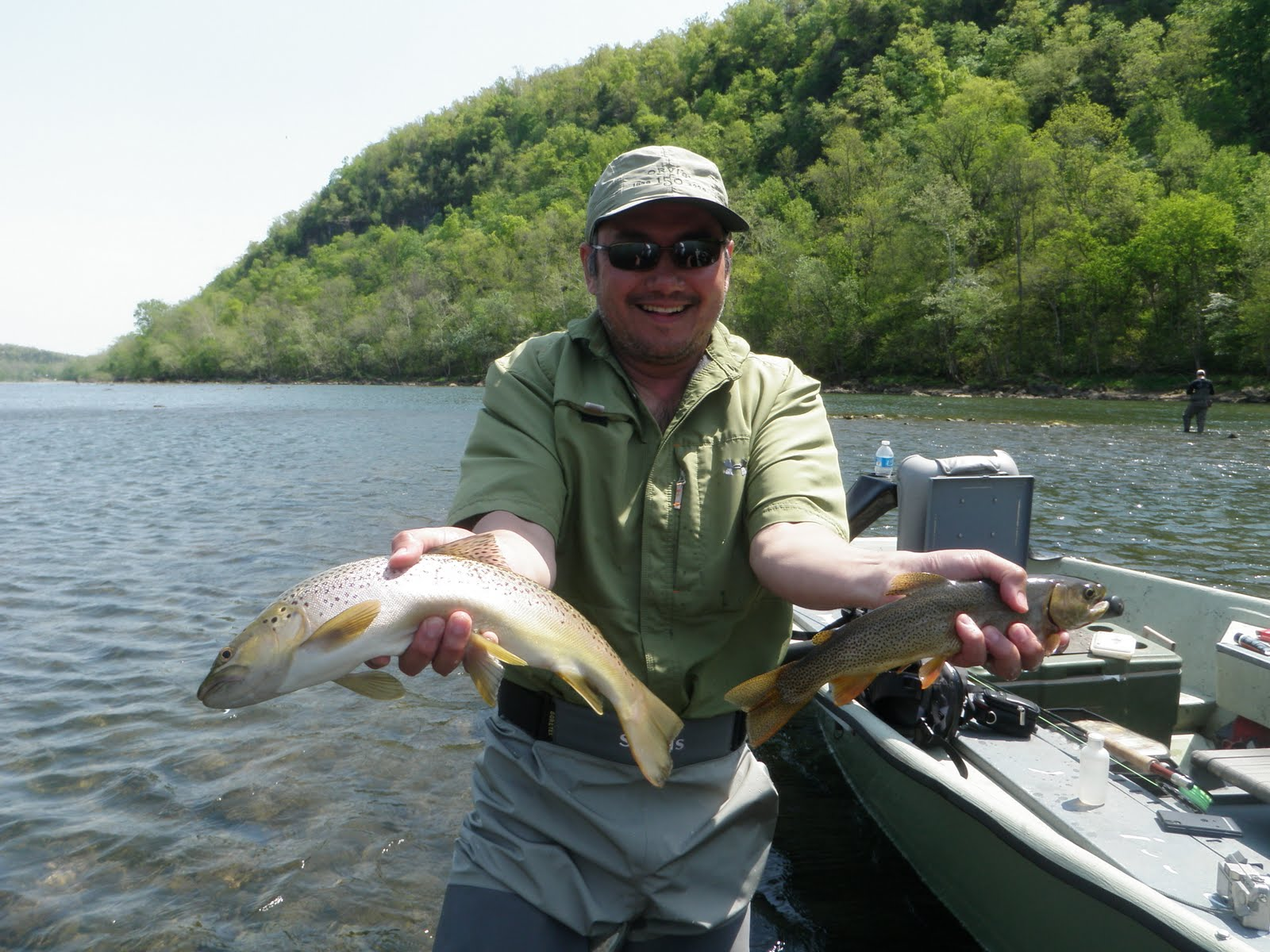 Arkansas fly fishing report white river bsd for White river fishing