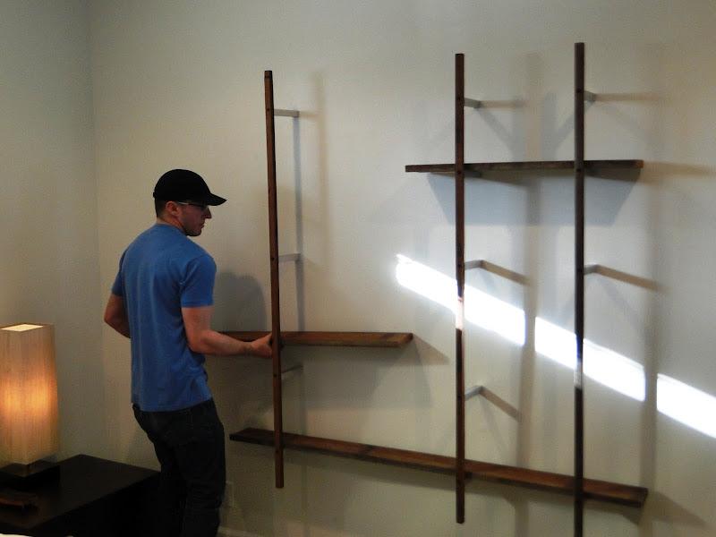 Floating Wall Display
