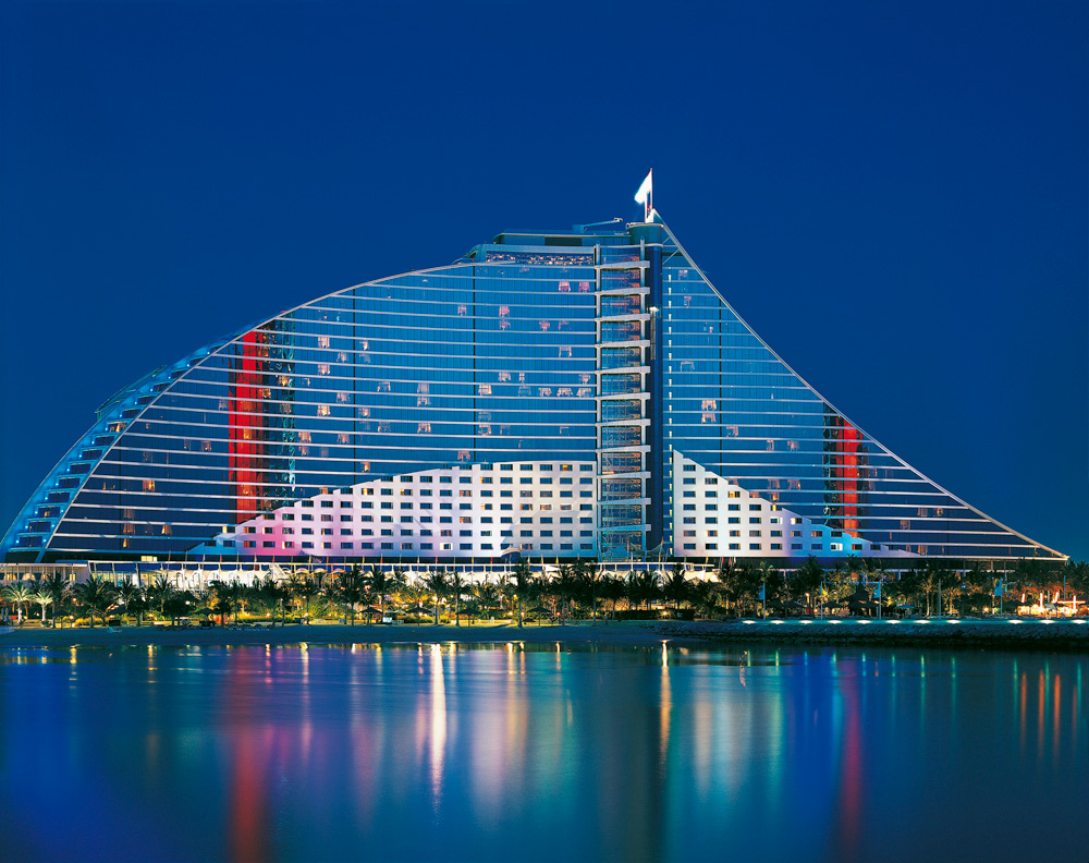 Luxury hotels in dubai azee for Top five star hotels in dubai