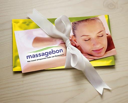 Massagebon met envelop