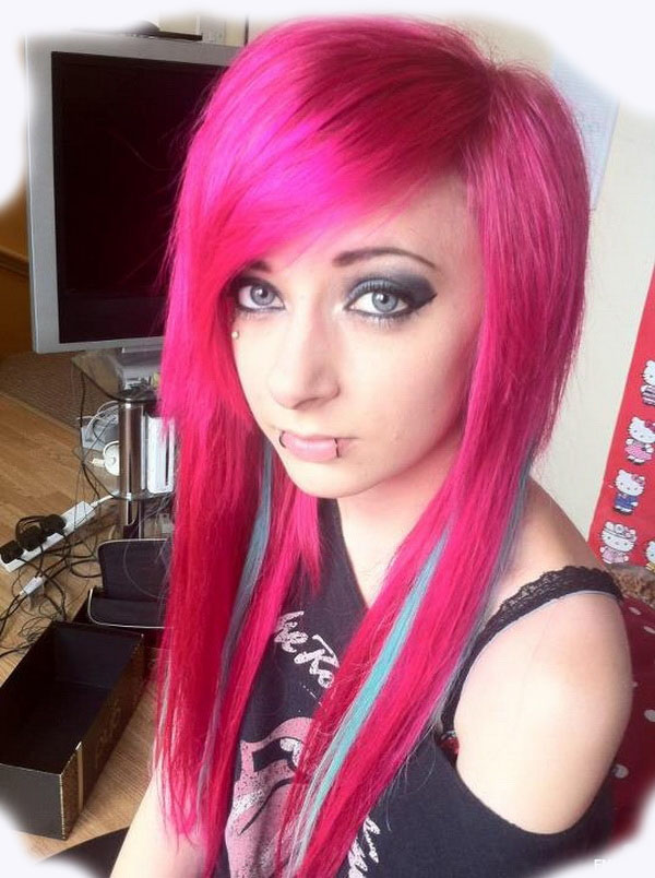 Emo Hair Color Ideas For Girls 2014 Emo Hairstyles