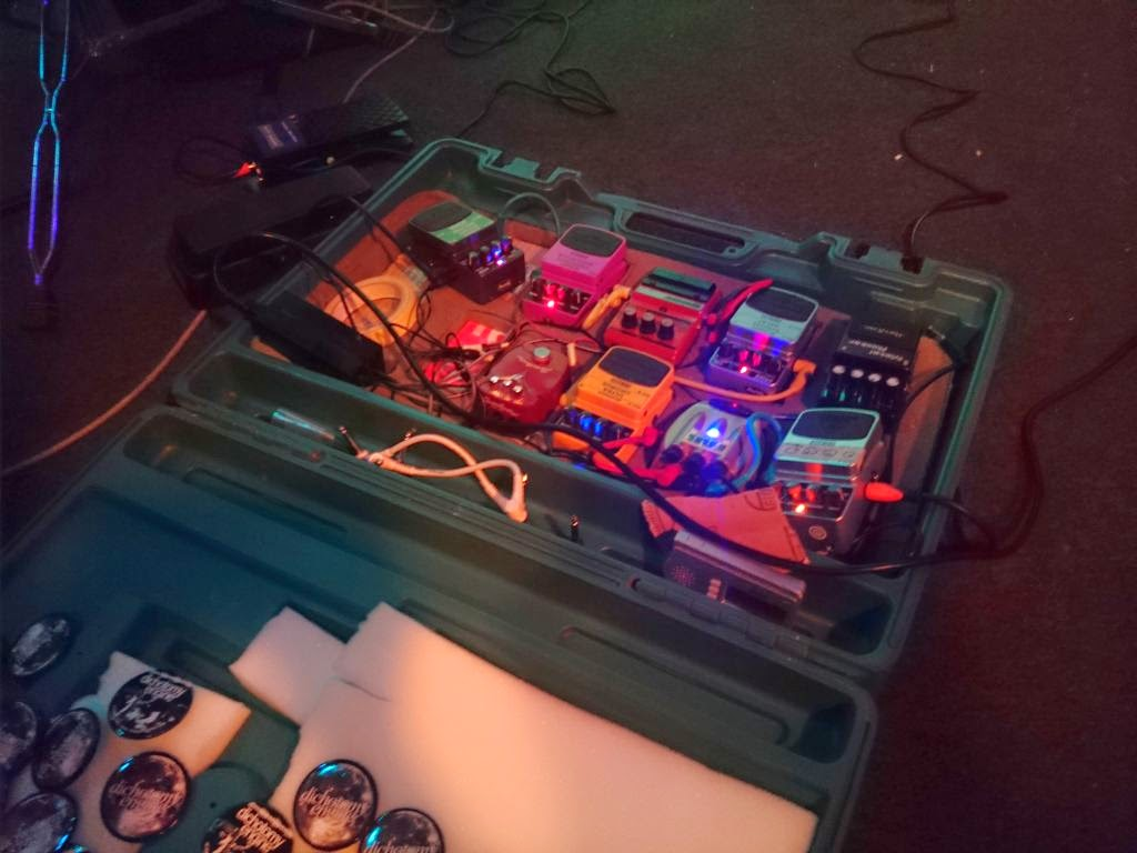 live drone and post rock pedalboard dichotomy engine