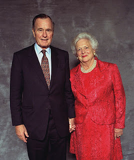 Just fainted at the thought of it Barbara Bush And George Bush Young