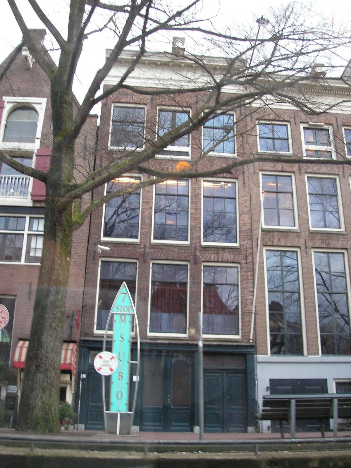 Mis viajes por el mundo la casa de ana frank amsterdam - La casa de ana ...