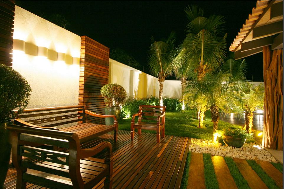decoracao em lampadas:Dicas de Jardim: Iluminação no seu jardim