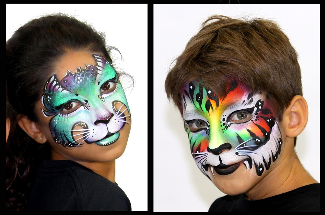 Uncategorized Funny Face Paint Ideas funny face painting for kids art projects ideas kids