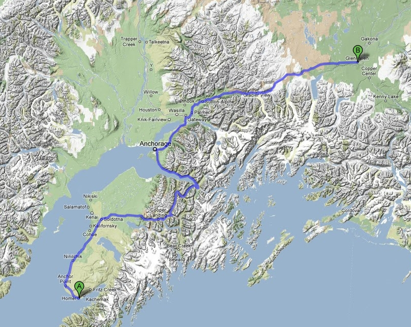Houston To Fairbanks  A Motorcycle Adventure July 1