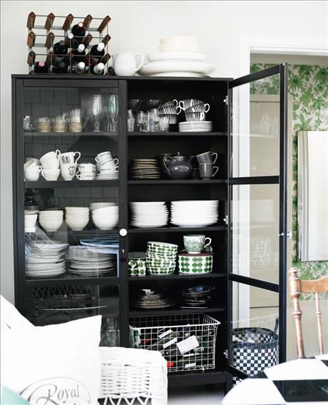 Vita Koksskap : Kitchen storage suggestions , built in or stand alone cabinets