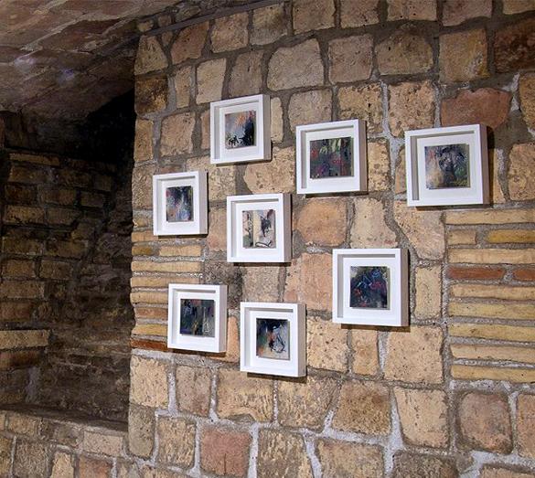Colección 8 cuadros pequeño formato