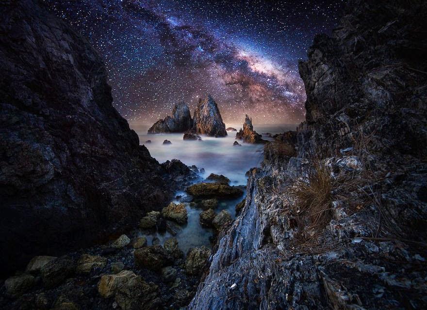 Красивые фото звездного неба (21 фото)