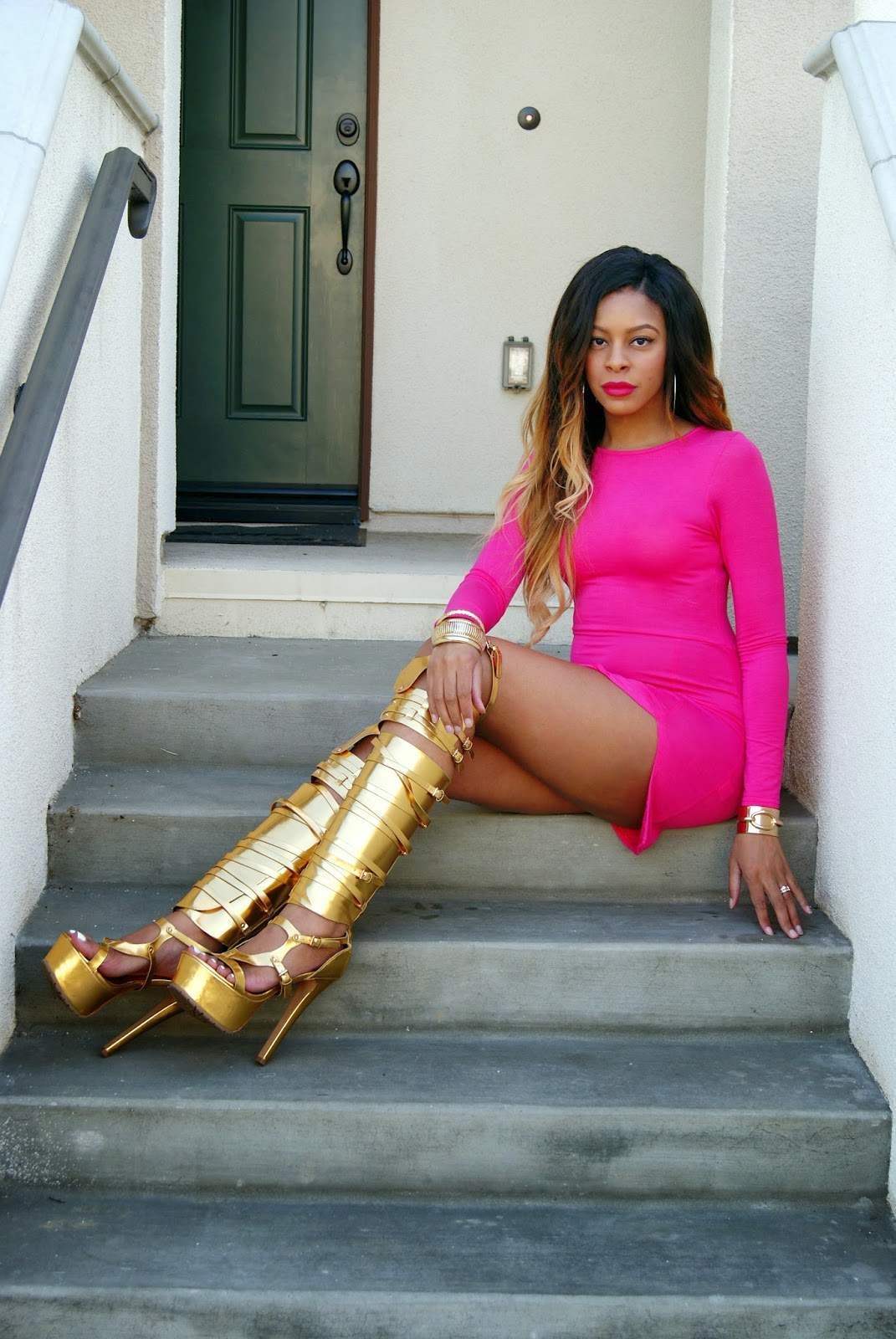 tom ford boots knock off, gold boots, allthingsslim,