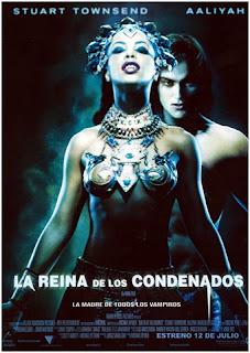 La reina de los condenados Poster
