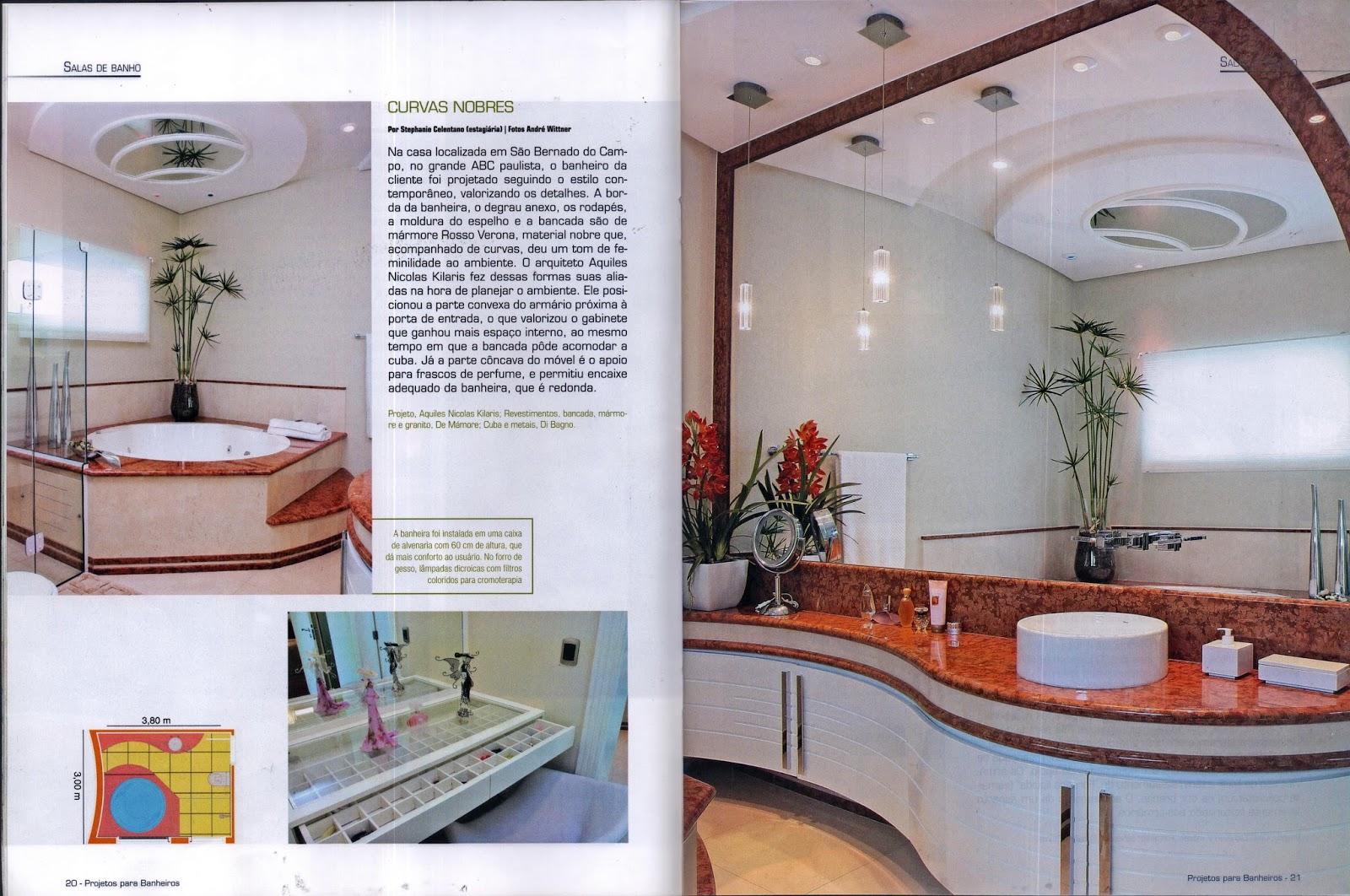 Banheiros número 24 publicou o projeto de banheiro do arquiteto  #713A31 1600x1062 Banheiro De Arquiteto