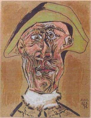Pablo Picasso's Harlequin's Head Stolen