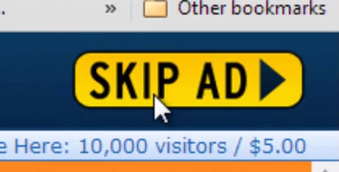 Click 'Skip Ad'
