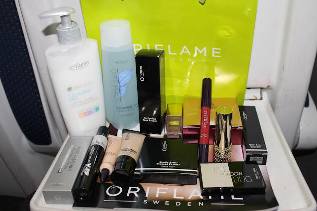 Oriflame Beauty Bloggers Event Dublin Goodie Bag