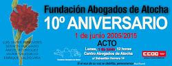 10º Aniversario Fundación Abogados de Atocha