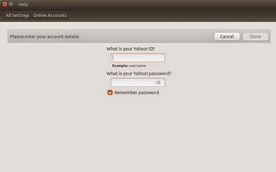 Login Yahoo Messenger dengan Empathy di Ubuntu