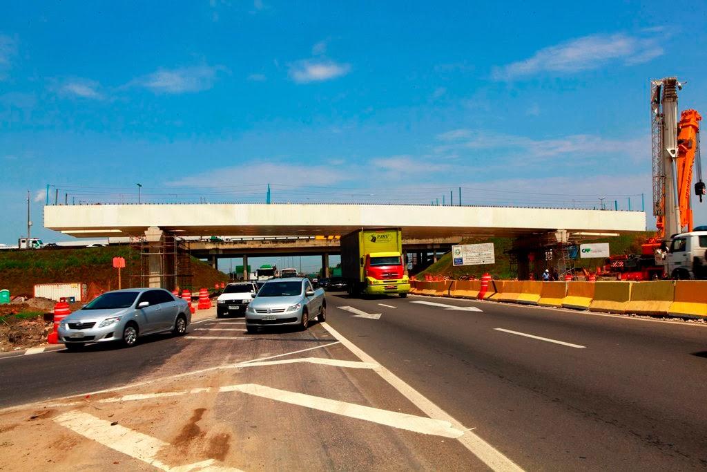 Rodovia Rio-Petrópolis terá interdição de pista  para obras do Arco Metropolitano