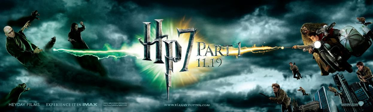 harry potter 7 poster part 2. harry potter and the deathly