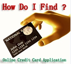 credit card on line