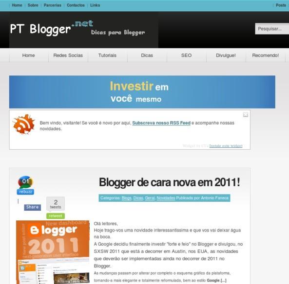 PT Blogger