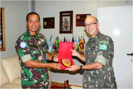 Force Commander Minustah Bangga dengan Prajurit TNI