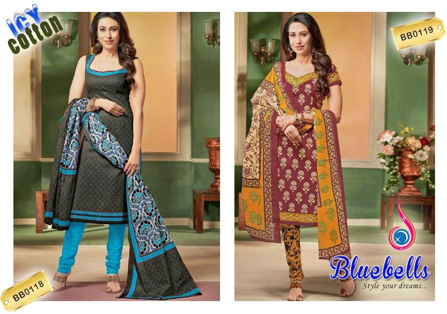 Karishma Kapoor Summer Suits 2015 Collection