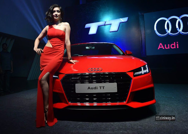 Akshara-Hassan-Stills-at-Audi-TT-Car-Launch